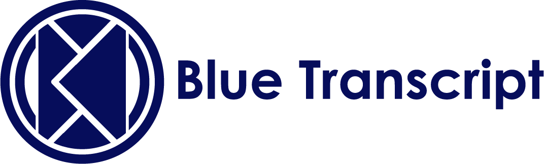 Blue Transcript | Blue Transcript provides official